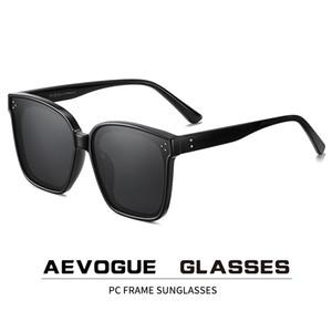 AEVOGUE New Women Fashion Polarized Sunglasses Transparent Square Retro Outdoor Sun Glasses Vintage Oculos Unisex UV400 AE0849 CX200706