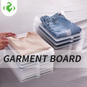 Футболка Организация системы 5 слоев одежды стеллаж для хранения PP Шкаф Отделка Ламинаты Многослойный пластиковый лист высокого качества T200211