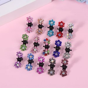 2019 hair accessories plum children's hair Rhinestone diamond Diamond clip popular beautiful rhinestone clip