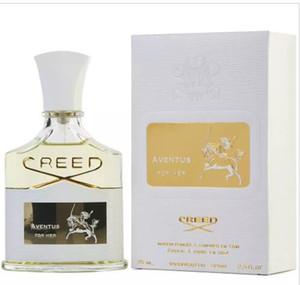 New Creed Aventus per il suo profumo per le donne con lunga durata ad alta fragranza 75 ml di buona qualità donne profumo con scatola spedizione gratuita