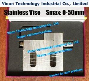 VISE-50 Точность нержавеющей тиски Max Open: 0-50mm (100Lx98Hx21W), Wire-EDM тиски, прецизионные тиски 50 мм из нержавеющей диапазона для провода EDM