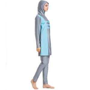 Islamic Muslim Swimsuit Clothe Two Pieces Women Swimwear Muslim Swimwear Comfortable Swimming Burkini Fashion Bathing Suit