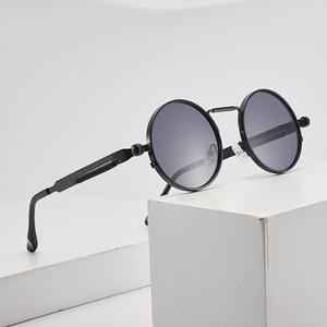 Vidano Optical Newest Mens Sunglasses Coating Polarized Sunglasses Round Circle Sun Glasses Retro Vintage Gafas Masculino Sol