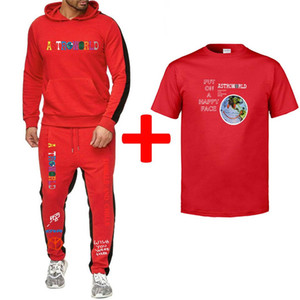 Mens Designer Fatos Mens Hoodies Calças camisetas 3pcs Suits Ternos Primavera Verão