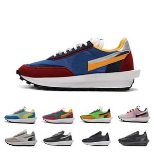 2020 pas cher Sacai hommes gaufres LDV ld femmes chaussures de course Noir Blanc Gris Pin vert Gusto sneakers sport Varsity bleu formateurs des hommes 36-45