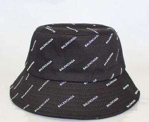 Fashion Designer bordados Cartas baldes Hat Para Mens Womens dobrável Caps Preto Fisherman Beach Sun Visor Venda Folding Cap Bowler Man