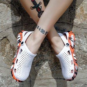 WEH Crocse Crocks мужчины бассейн сандалии лето открытый CholasBeach обувь мужчины скольжения на сад Сабо повседневная вода душ Литерная Crock T200420