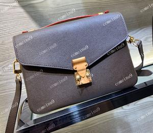 2020 Sac messenger sac à bandoulière en cuir véritable femme gros sac à main bandoulière design metis w poignée 40780 Livraison gratuite
