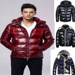 The France Winter Men Homme Down Jacket Bomber Doudoune Parka Jassen Outerwear Hooded Manteau Goose Down Jacket Coat Hiver Maya