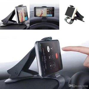 6.5inch Painel do carro Phone Holder Fácil Clipe Monte Levante Car Phone Holder GPS exibição suporte do carro preto clássico Suporte Suporte
