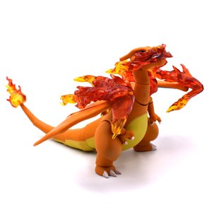15cm Charizard Cartoon Movie&TV PVC Model Figure in Action Figures Toys Collectors Christmas Gifts For Friends Free Shipping T200704