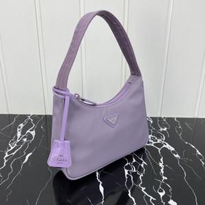 Мода Сумка Хобо Конструктор подмышек сумка женская сумка Luxury New Hot Personality Продажа высокого качества Moon Shaped фиолетовый Trend мешок 515