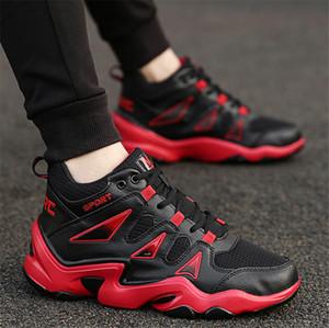 Hot vente en gros chaussures pour hommes de sport casual chaussures haut-dessus des hommes et des femmes hip-hop tendance coréenne chaussures de basket-ball respirant
