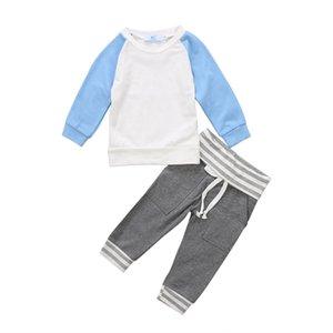 Newborn Infant Baby Boys Tops Sweatshirt Long Pants 2Pcs Autumn Clothes Outfits Size 0-24M