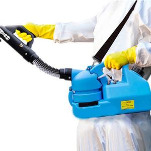 Nueva 110V / 220V 7L eléctrico ULV en frío Fogger Insecticida atomizador ultra baja capacidad de desinfección del rociador del asesino del mosquito T Fría nebulizador Máquina