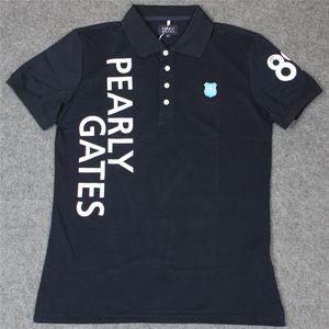 NUEVA puertas del cielo del deporte del golf Camisetas 2 Colores masculino de verano de manga corta para hombre Ropa pg Golf Trainning camisetas