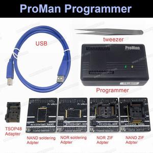 Profesional nand flash Programador Herramienta de reparación Copia NAND NOR TSOP48 Adaptador TL86 PLUS programador Alta velocidad de programación freeshipping