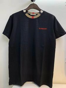 20P8 Оптовая мужская повседневная хлопковая футболка мужские дизайнерские футболки футболки Летний отдых Человек с круглым воротом с коротким рукавом футболки M-3XL