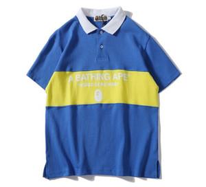Mens Designer T-shirts Un Singes De Bain T-shirt Pull Hommes Polo Femmes Shark Impression Vêtements Casual Wear