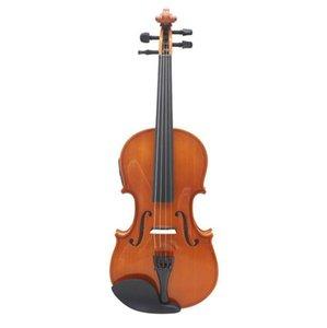 E03 전기 상자 바이올린 단단한 나무의 전기 EQ 바이올린