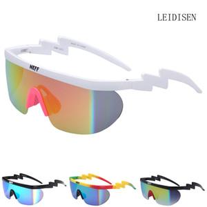 Luxus- Neff Sonnenbrille Herren-Marken-Entwerfer Frauen uv400 große Feld-Beschichtung Sun Glasses 2 Lens feminino Brillen Unisex