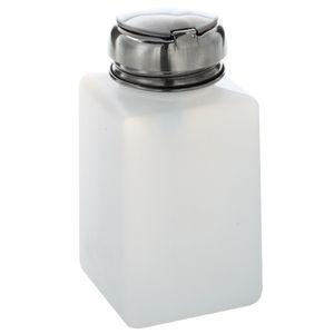 200ML Nail Polish Remover Alcohol Liquid Press Pumping Dispenser Bottle