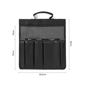 New Waterproof Handbag Large Tool Bag Camping Organize 600D Oxford Fabric Storage Bags Container Kneeler Tool Bag with 8 Pockets