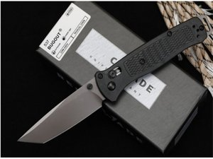 New butterfly 537 G10 D2 blade Axis Quick Open Folding knives Nylon Glass Fiber Handle Camping Pocket EDC knife