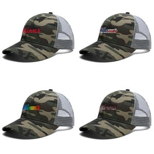 Unisex hamms beer Adjustable Trucker Cap Dad Designer Blank Fashion Baseball Hat 3D effect flag sign rainbow les gay growler Distressed