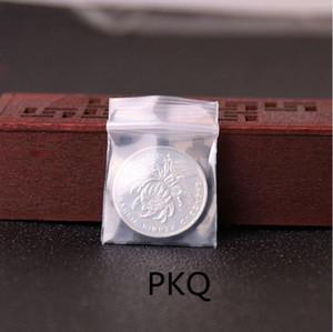 Mini plastique Ziplock Sacs Bijoux Bague, Petit Ziplock Sac d'emballage alimentaire échantillon Sacs Zip Lock, impression claire sac de rangement en plastique