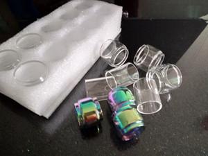 Hot Fat Bulb Glass Tube Rainbow Glass para TFV8 Baby V2 atomizador tanque Mag Grip Starter Kit