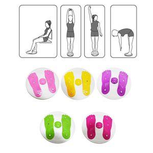 Twisted Imán disco bajar de peso grandes Neutro / cintura fina de la cadera Elevar las piernas delgadas Anywhere