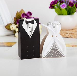 100 أجزاء الإبداعية العروس والعريس مربع الحلوى لحضور حفل زفاف حقيبة الزفاف الحسنات هدية للضيف