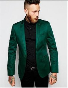Green 2 piece Men's Blazer Suit for Wedding Slim fit Business Office Groom Party Jacket Costumes Men Suit with Pants