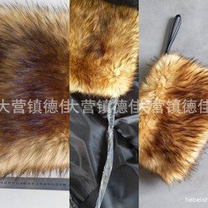 Imitation hand warmer imitation hairy Warm wool Wig wool satchel double-sided hair all kinds of fake hair baby