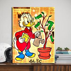 Richie Money Plantación de árboles Alec Monopolyingly Impresiones de lienzo Imagen Pinturas modulares para sala de estar Cartel en la pared Decoración del hogar