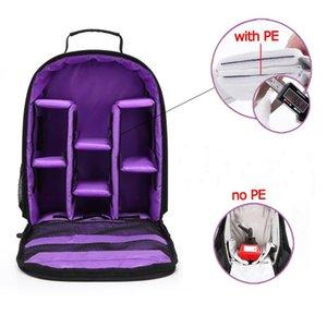 Imperméable à l'eau multi-fonctionnel sac caméra vidéo reflex numérique avec Rain Cover petit appareil photo reflex Sac pour ordinateur portable Trépied pour Photographe