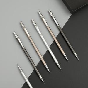 suprimentos material de escritório simples textura do metal mecânica lápis 0,5 milímetros 0,7 milímetros Desenho lapiseira plástico