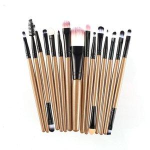 15pcs set Makeup Brushes Sets Kit Eyelash Lip Foundation Eye Shadow Brow Eyeliner Cosmetic Make Up Brush Beauty Tool