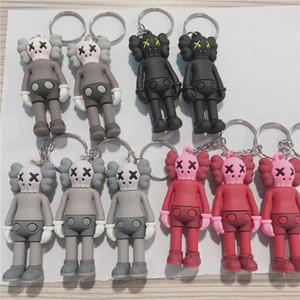 Hadas figura de acción 7CM KAWS BFF Llavero tendencia muñeca Brian Street Art PVC versión limitada Colección Modelo de juguete de regalo correas 13 Estilos de DHL