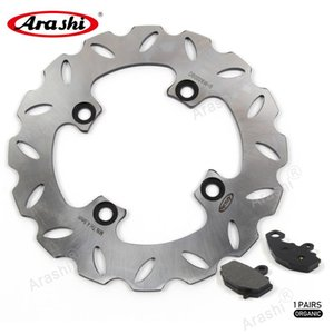 ARASHI CNC Rear Brake Disc Rotor Brake Pad Para NINJA ZX9R 1998 1999 2000 2001Motorcycle discos rotores Pad ZX9R