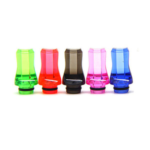 Flat 510 Drip Tips Plastic Mouthpiece Such Tip Anti Oil Explode For EGO AIO TFV12 Baby TFV8 Baby Prince Tank Crown RTA