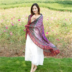 2017 Summer Round Beach Towel Chiffon Scarf Sunscreen Shawl Yoga Mat Blanket Sunflower Pattern Printing Beach Towels Hot Sale