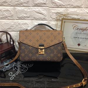 bolso de cuero caliente bolsa de mensajero bolsa de oxidante Mujeres 2019 moda de las mujeres metis bolsas de hombro elegantes bolsas de compras crossbody del monedero del embrague