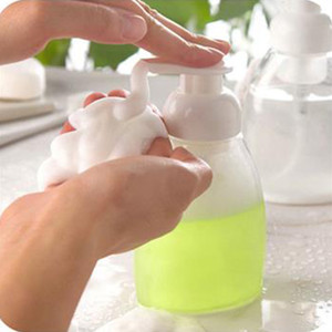 250ml/300ml Foaming Bottle Whipped Mousse Points Bottling Fine Shampoo Lotion Refillable Bottles Foam Pump Soap Dispenser 1PC