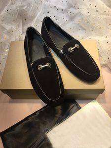 New arrival unisex velvetdress shoes brand designer flat round toe women men single shoes lovers lazy slip-on loafers fashion boat shoes