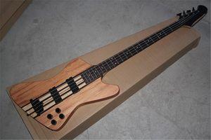 Ücretsiz Kargo Thunderbird Klasik IV Elektrik Bas gitar Custom tek parça seti boyun 4 Strings Bass Guitar burlywood