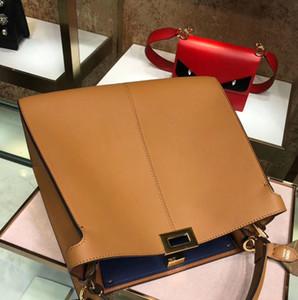 Großhandel neueste ursprüngliche Brown Luxushandtasche, Handtasche, Geldbörse von der Fabrik von Kalb, Lamm Haut, Krokodilledern, schnelle Lieferung direkt aus