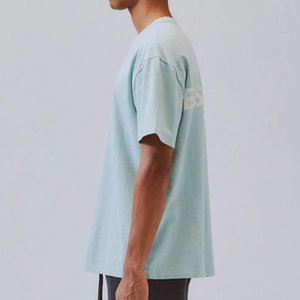 20SS ESSENTIALS الجديدة عاكس طباعة رسالة تي شيرت الرقبة الطاقم كم قصير تي زوجين النساء الرجال مصمم أزياء قميص HFXHTX045