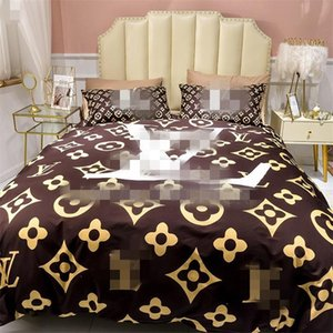 Designer Comforter New Style Cotton Bedding Cover 4PCS High Quality Hot Style Quilt Cover Printed Pillowcase Queen Size Luxury Bedding Sets